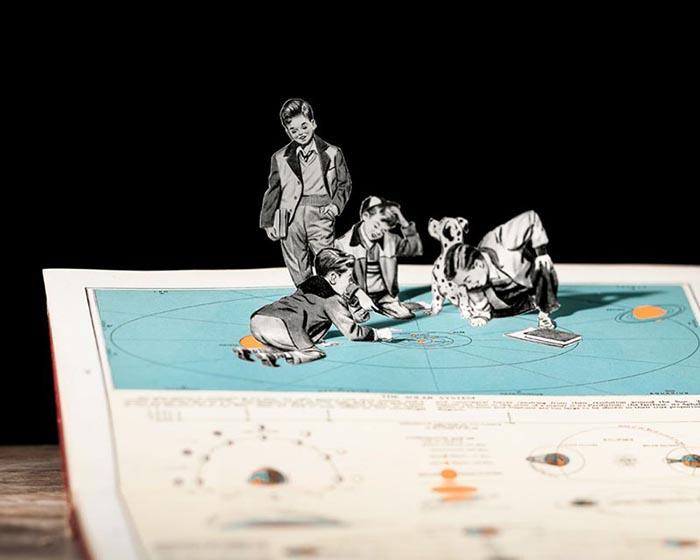 Thomas Allen collage mejores artistas inspiración