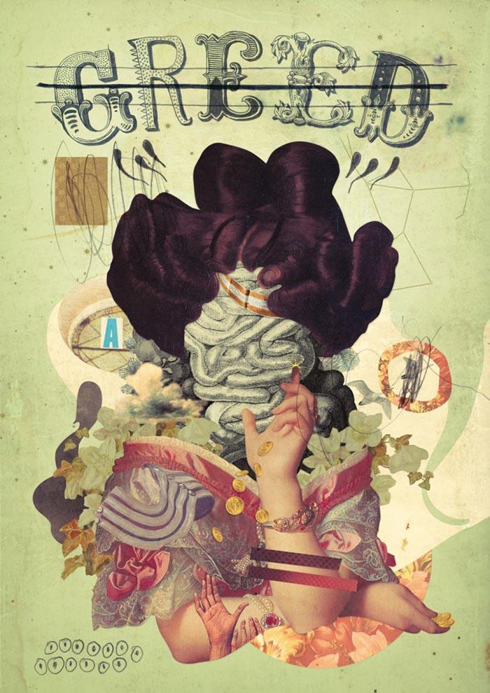 Eduardo Recife collage mejores artistas inspiración