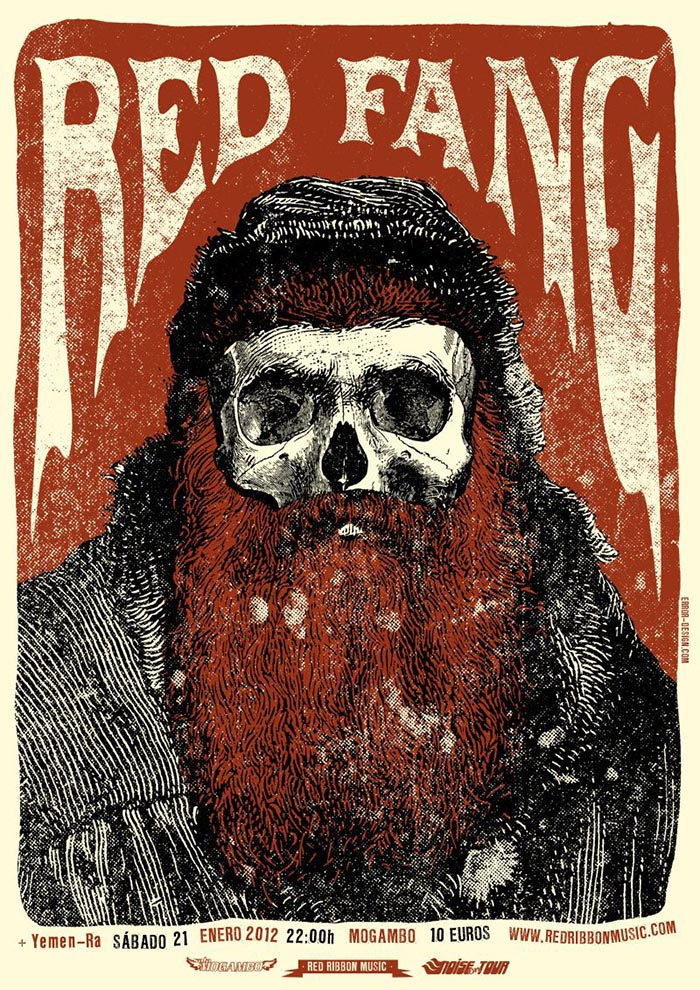 Error Design Xavi Forne carteles Red Fang