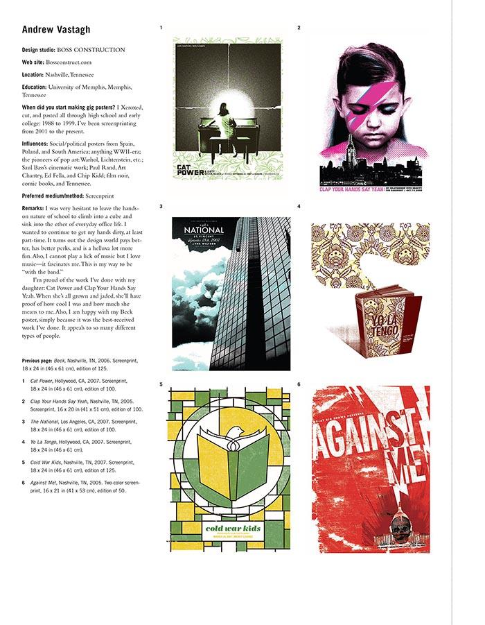Gig Posters libro diseñadores carteles música rock