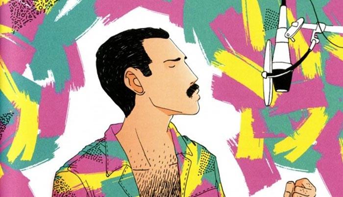 Alfonso Casas ilustraciones libros Freddie Mercury una biografía