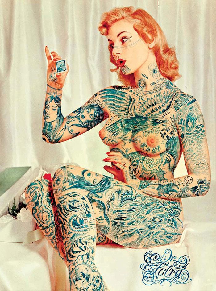 Doctor Lakra tatuador diseñador mexicano