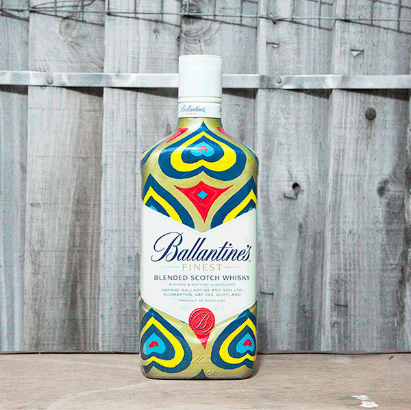 Concurso ilustración packaging Ballantines