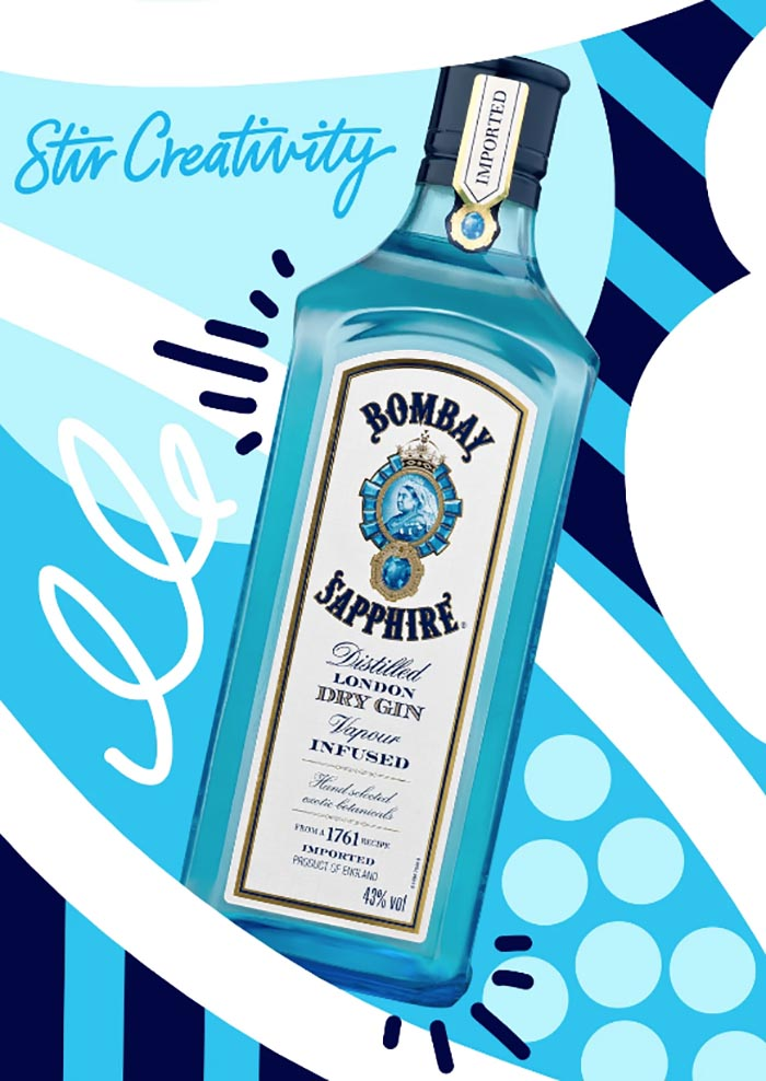 concurso diseño Bombay Sapphire
