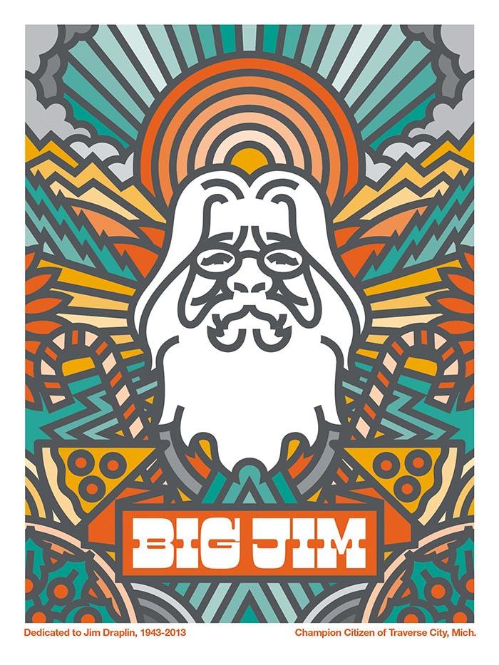 Aaron Draplin diseño posters