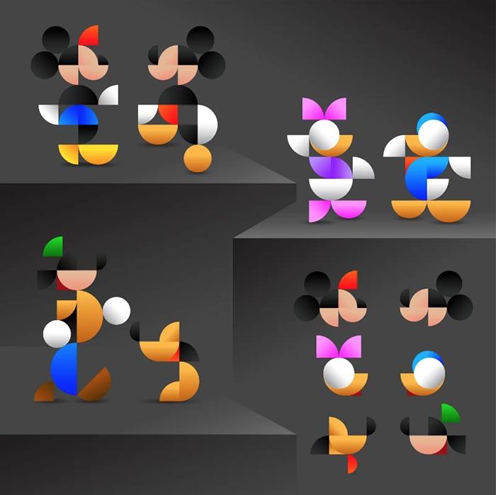 Concurso diseño ilustracion disney friends Cesar Santillan Flores