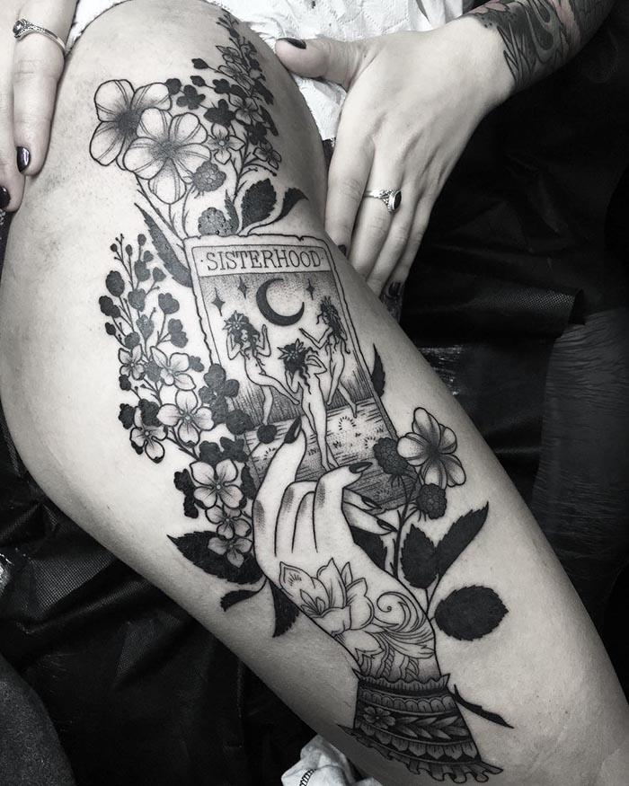 Mejores tatuadoras españolas Esther García Valenzuela Esthart