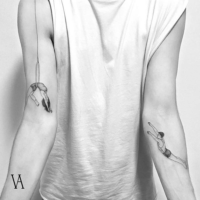 Mejores tatuadoras españolas Violeta Arus