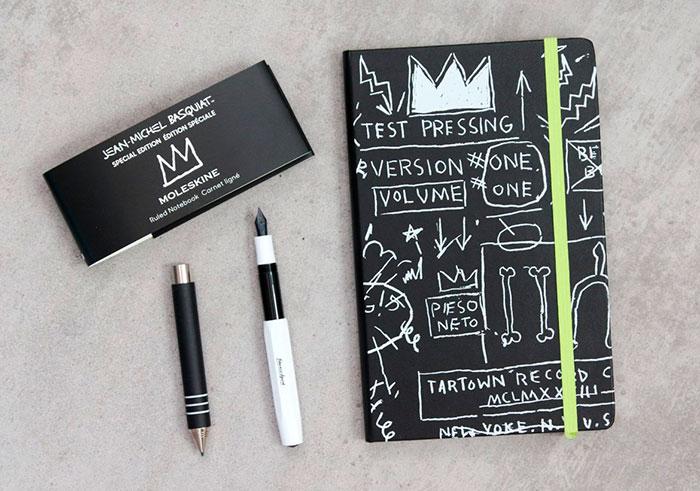 básicos de verano para diseñadores Moleskine Basquiat