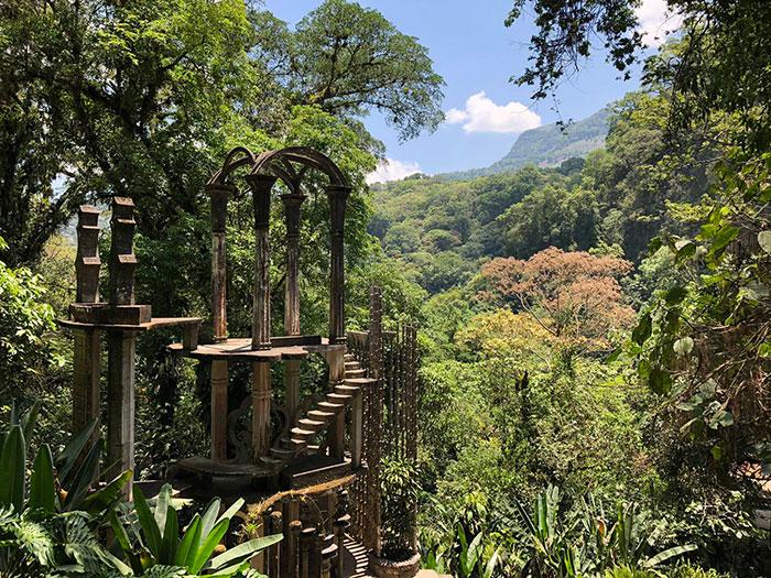 Vacaciones diferentes originales México jardin edward james