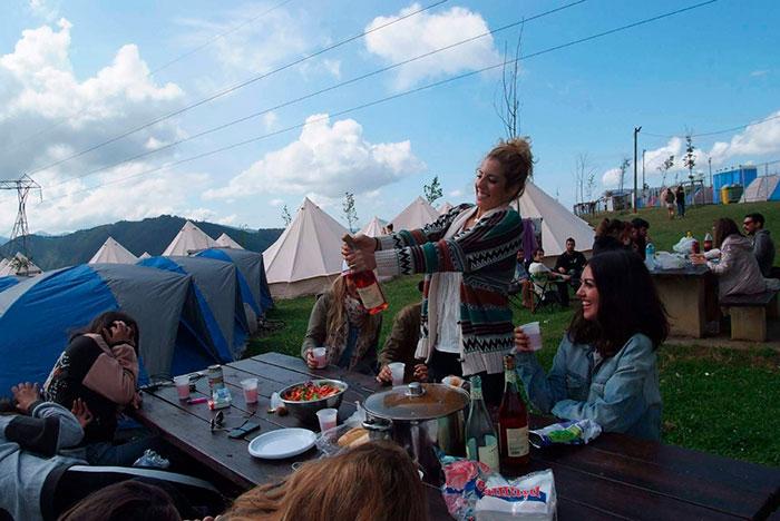 Vacaciones diferentes originales festivales glamping
