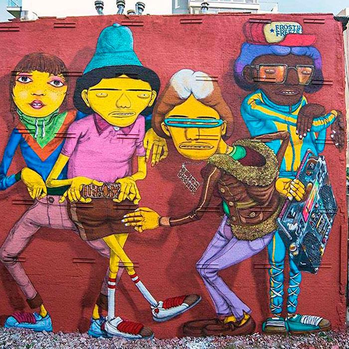 Os-Gemeos-mejores-artistas-brasileños