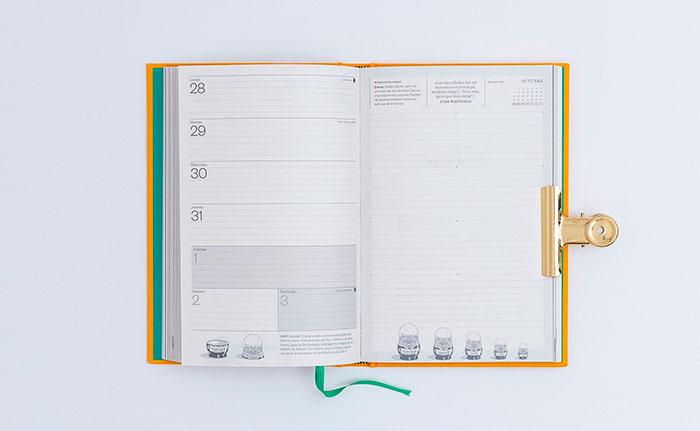 mejores agendas para diseñadores y creativos 2019 blackie books