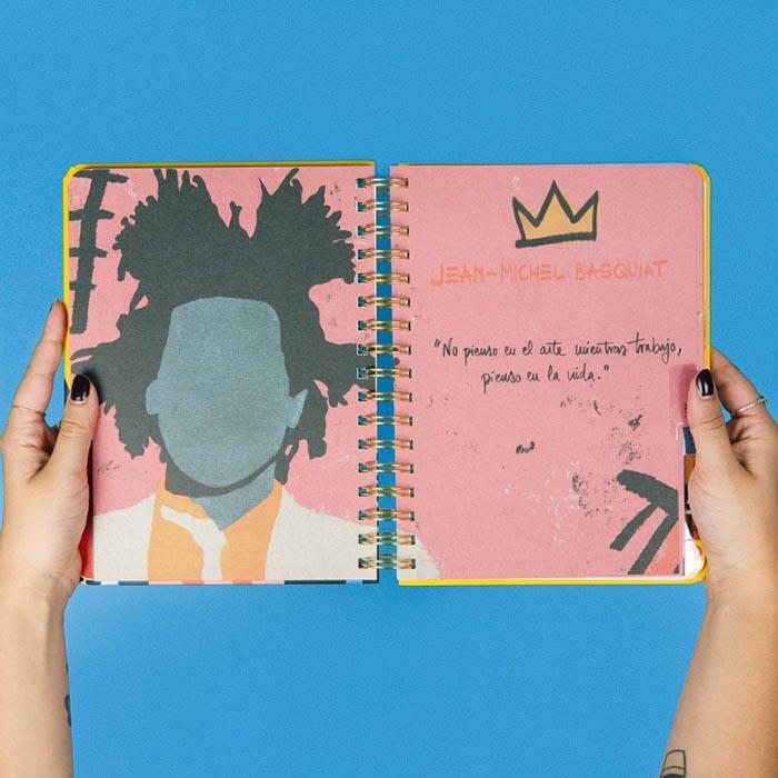 Mejores agendas ilustradas 2019 Coco Dávez Faceless