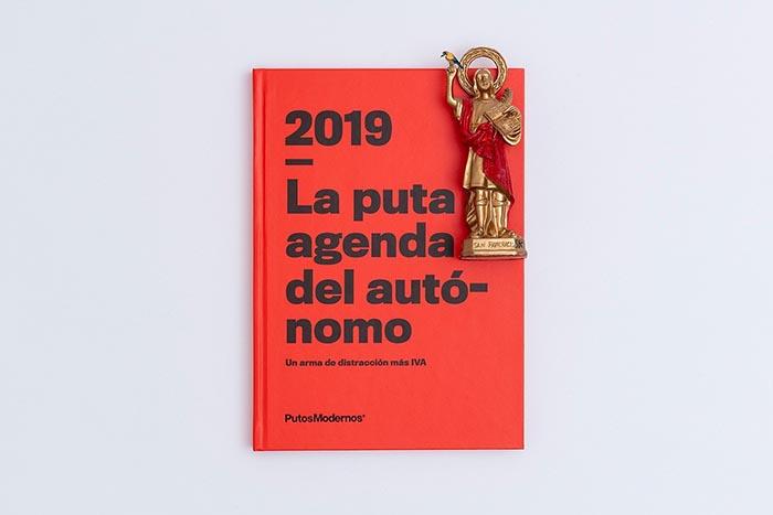 La puta agenda del autónomo agendas más originales 2019