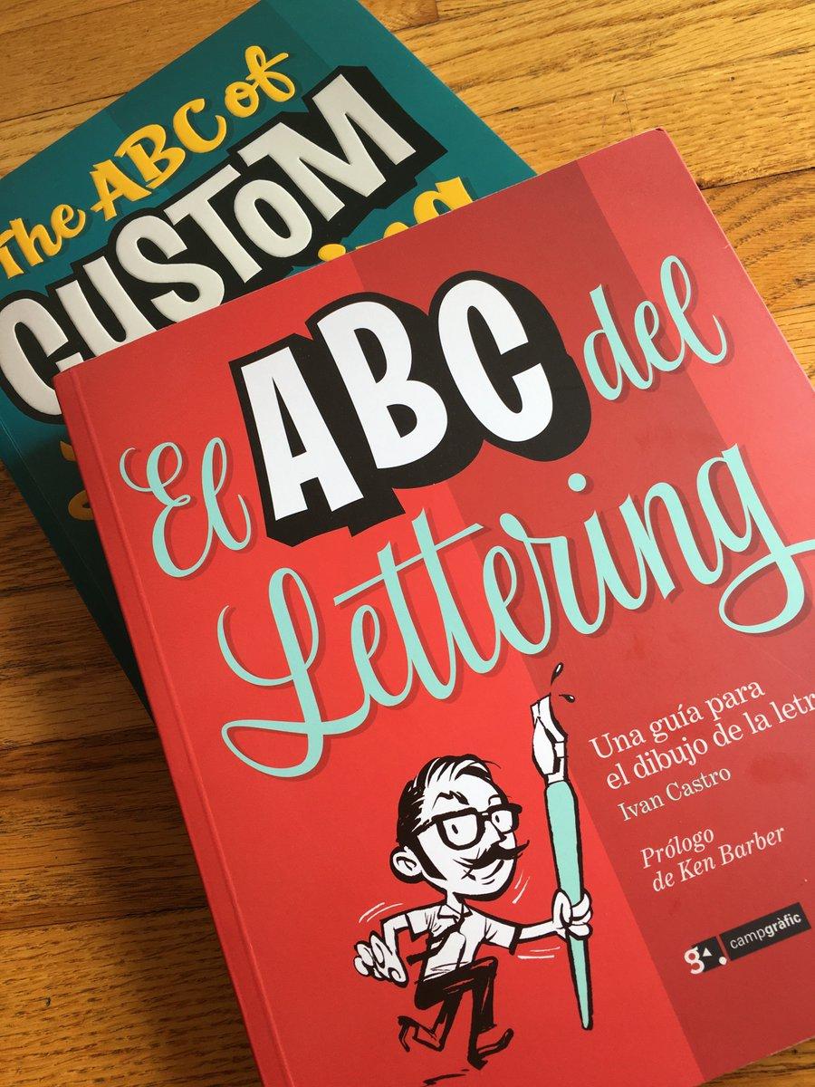 Mejores libros de lettering diseño diseñadores. El ABC del lettering