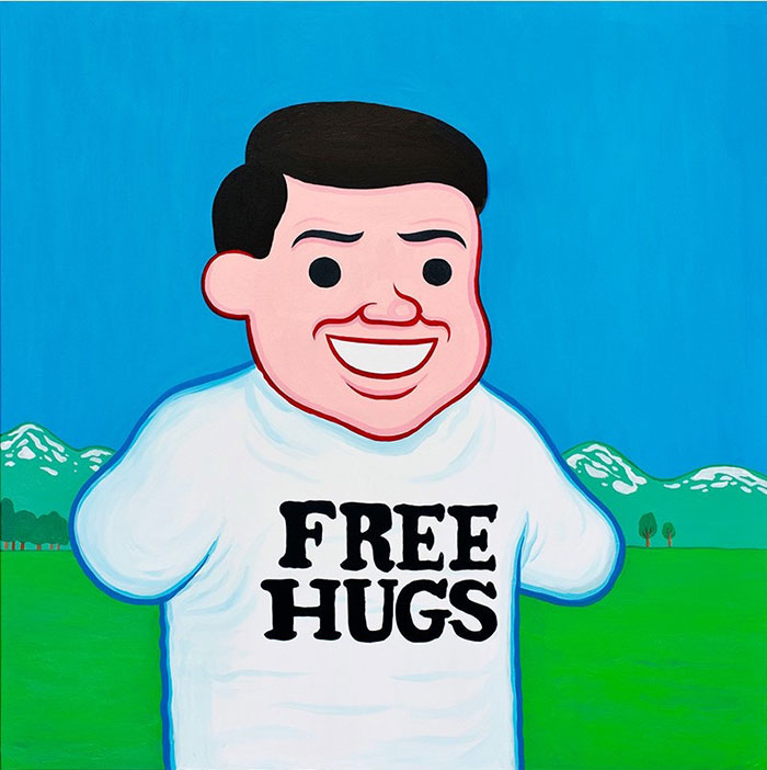 Joan Cornellá ilustración free hugs comic humor