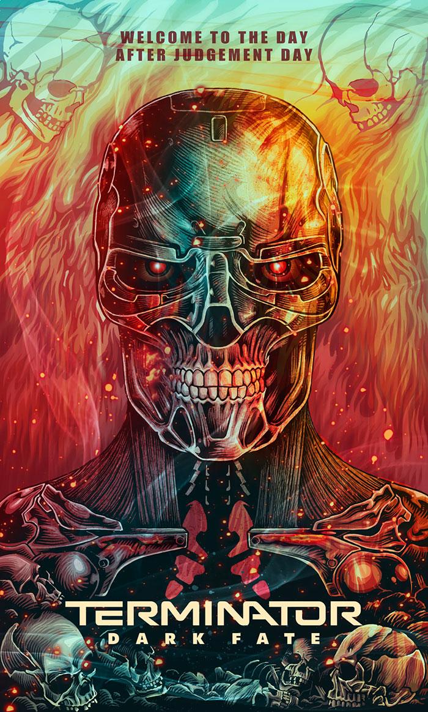 ganadores concurso de diseño Terminator Dark Fate