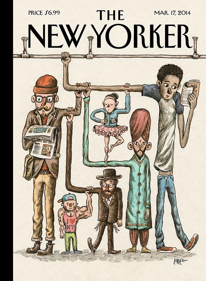 Ricardo Siri Liniers. Portadas The New Yorker