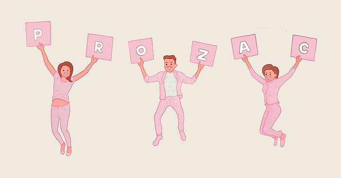 Joan cornellá ilustración prozac comic tiras