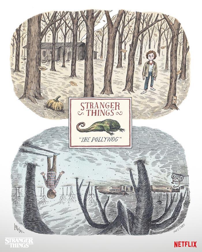 Ricardo Siri Liniers. Poster Stranger Things