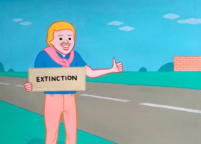 Joan Cornellá ilustración comic humor