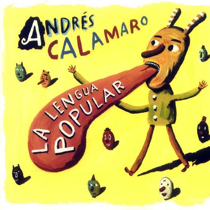 Ricardo Siri Liniers. Portada disco Andrés Calamaro