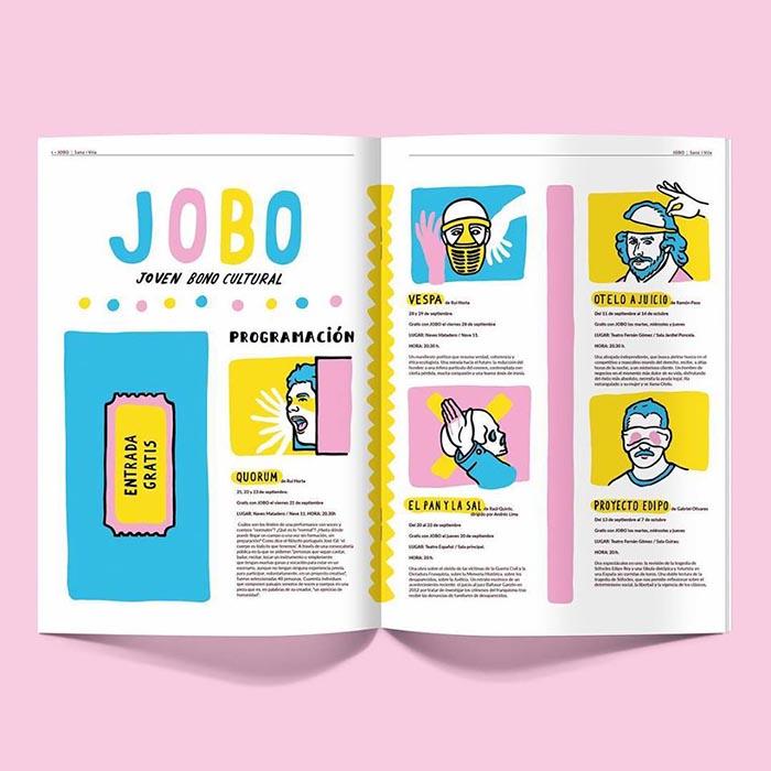 Sanz i vila ilustrador colores revista