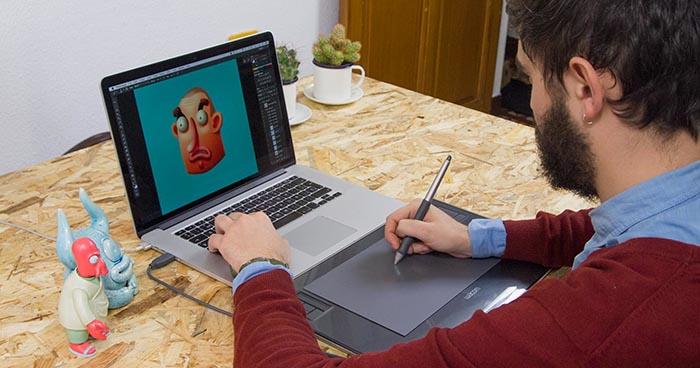 curso diseño personajes Bakea