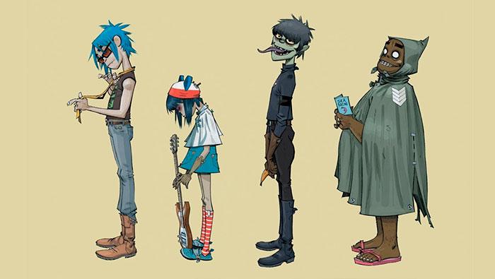Jamie Hewlett Gorillaz ilustrador