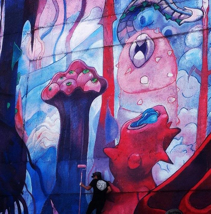 mejores artistas urbanos de México JB arte callejero