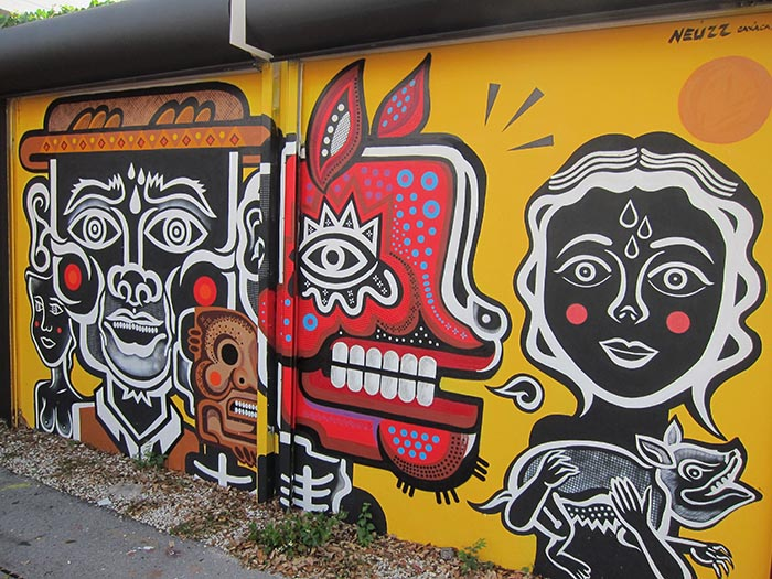 mejores artistas urbanos de México Neuzz arte callejero