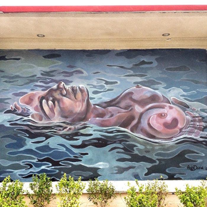 mejores artistas urbanos de México Paola Delfín arte callejero