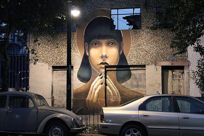 mejores artistas urbanos de México Pilar Cárdenas Fusca arte callejero