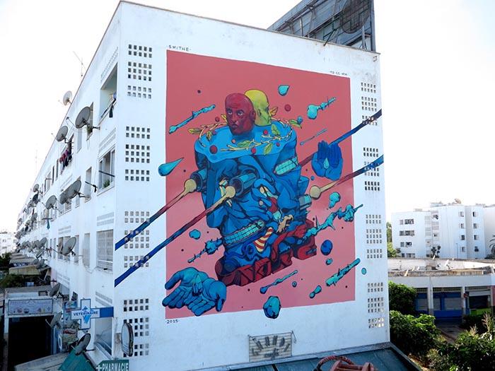 mejores artistas urbanos de México Smithe arte callejero